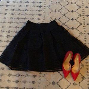 Torrid Black High Waisted Skirt